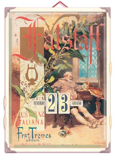 CDO Italy - Calendario Falstaff