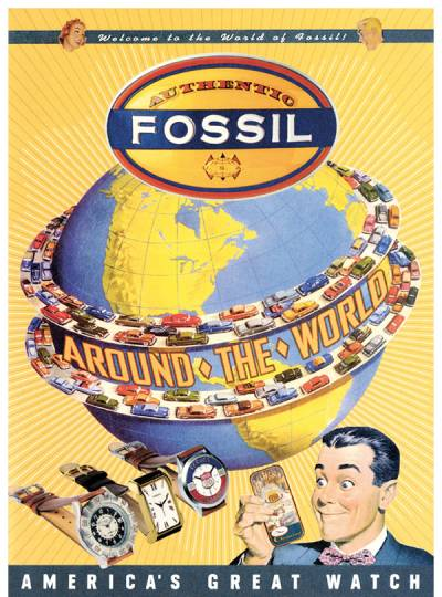 Fossil - Around the World