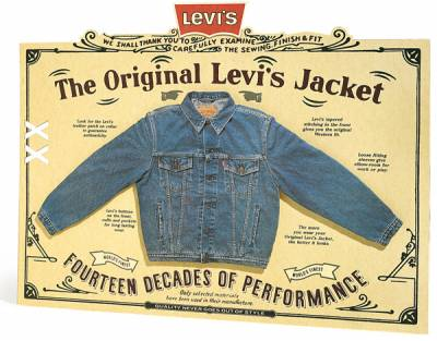 Levi's - The Original Jacket display