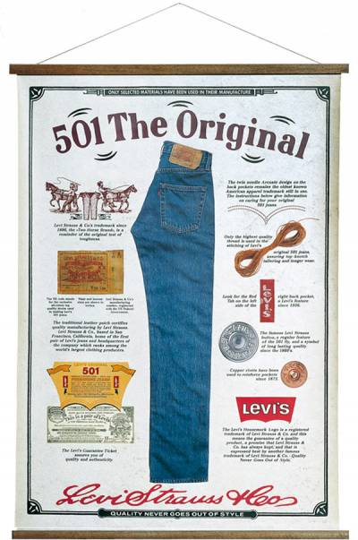 Levi's - Poster