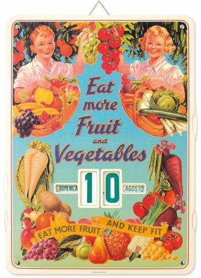 Forme - Calendario Eat More Fruits