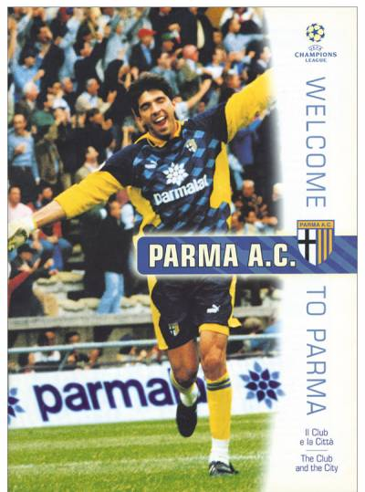 Parma Calcio - Welcone to Parma 1996