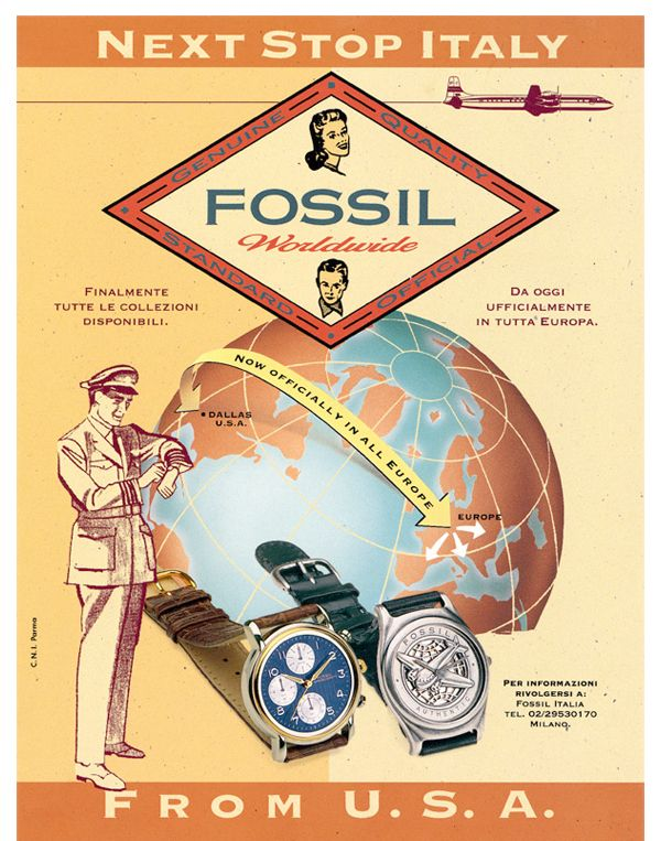 Fossil - Next Stop Italy